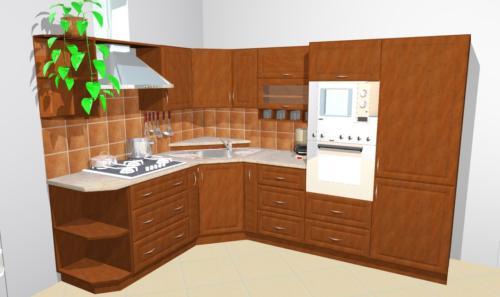 Kuchyně-3D