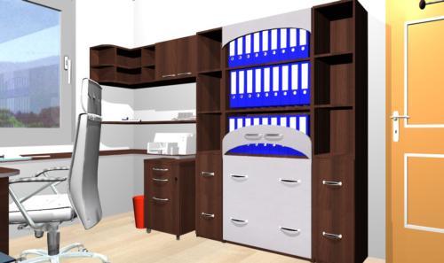 Kancelář 3D