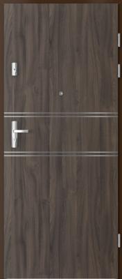 Porta Doors Kwarc Intarsie 4 dub tmavý