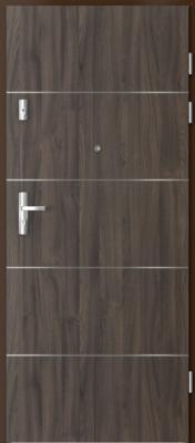 Porta Doors Kwarc Intarsie 6 dub tmavý