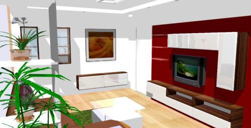 Obývací pokoj 3D