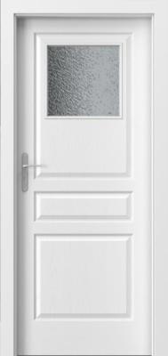 Porta Vídeň 1/3 sklo bílá